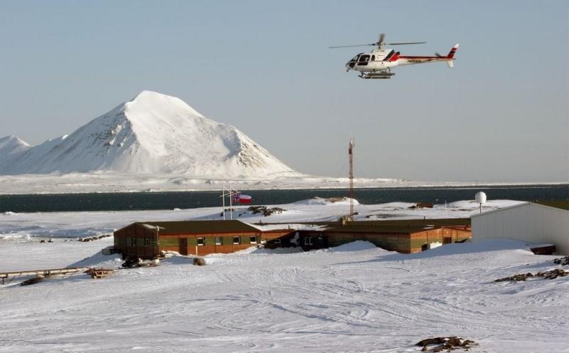 Polish Polar Station in Hornsund