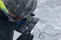 badanie struktury pokrywy snieżnej 2