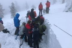 badanie struktury pokrywy śnieżnej
